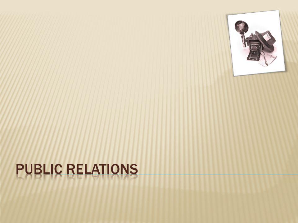  Vztahy s veřejností můžeme zaznamenat už v dávné historii.