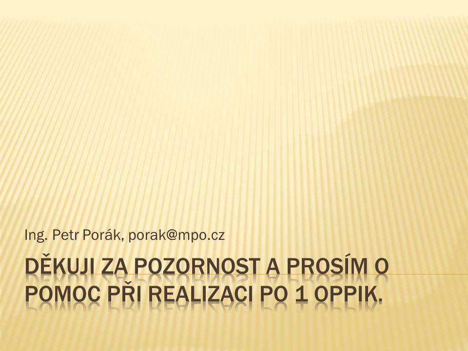 Ing. Petr Porák, porak@mpo.cz
