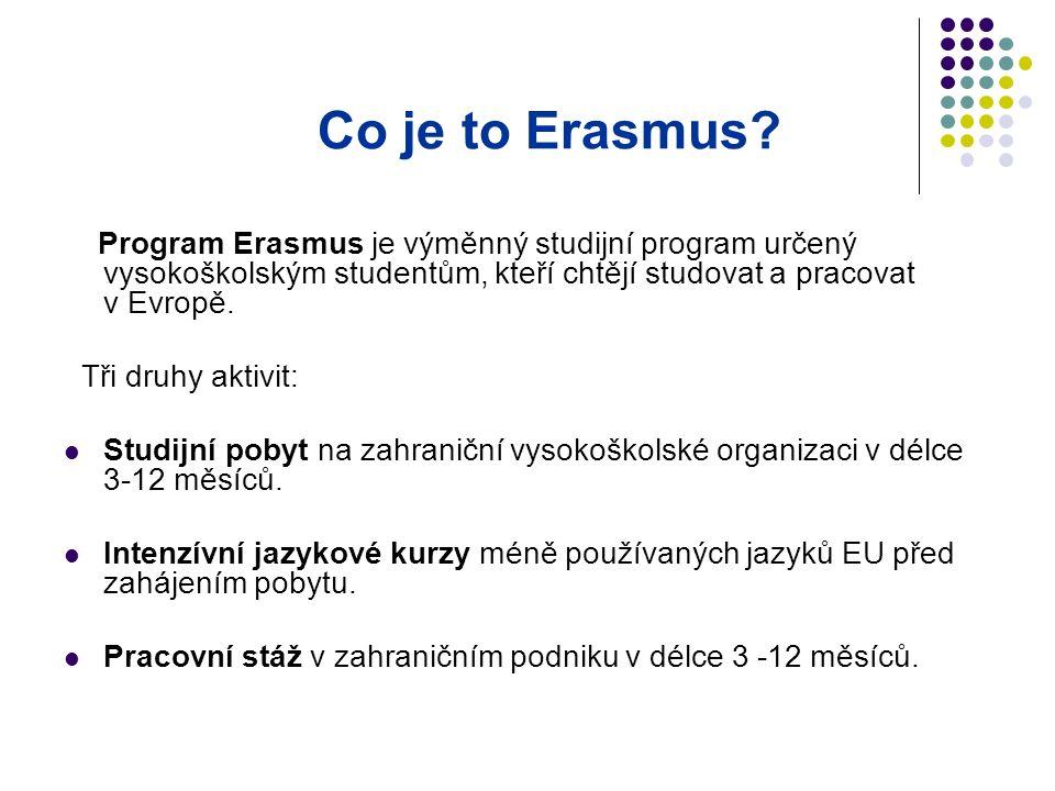 Co je to Erasmus.