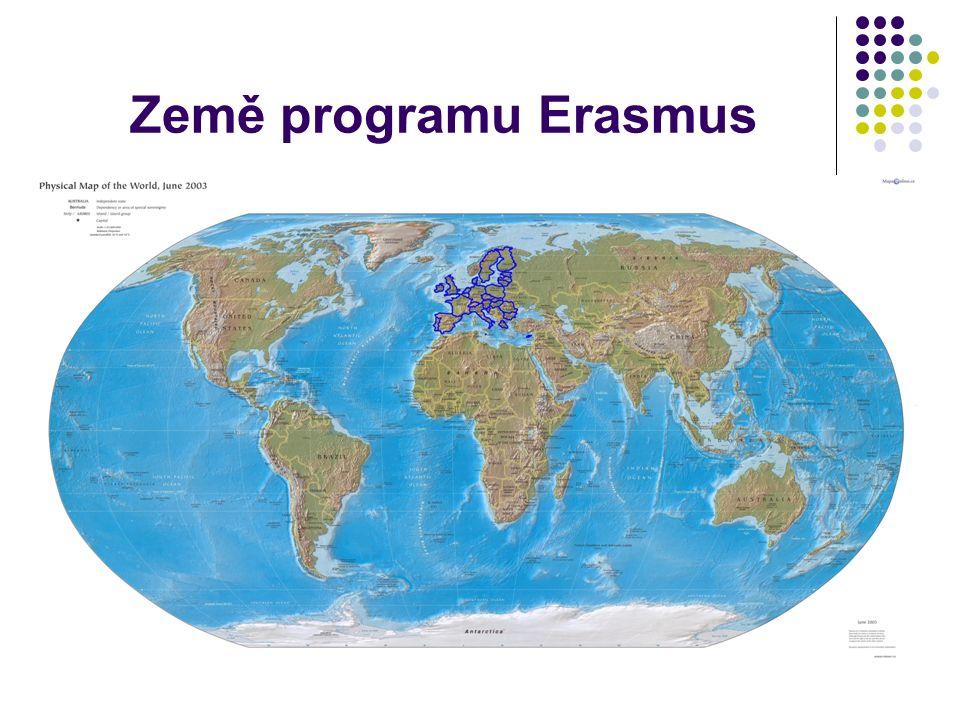 Země programu Erasmus