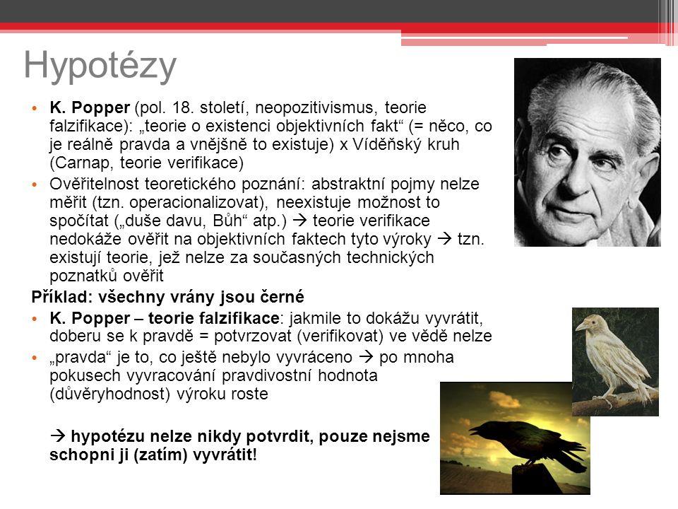 Hypotézy K. Popper (pol. 18.