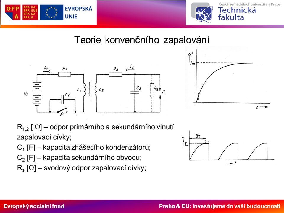 Evropský sociální fond Praha & EU: Investujeme do vaší budoucnosti Teorie konvenčního zapalování