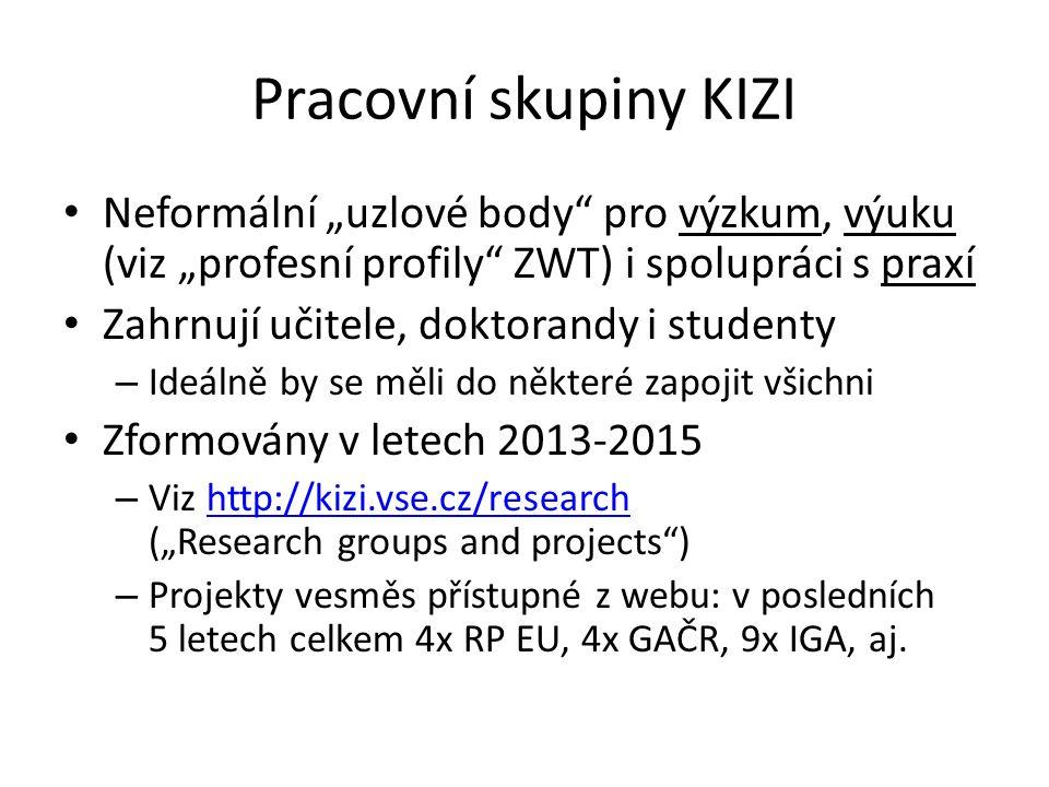 Obhájené práce IIS a WELT IIS – Petr Dušák (prof.