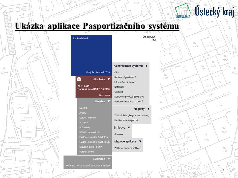 Ukázka aplikace Pasportizačního systému 9