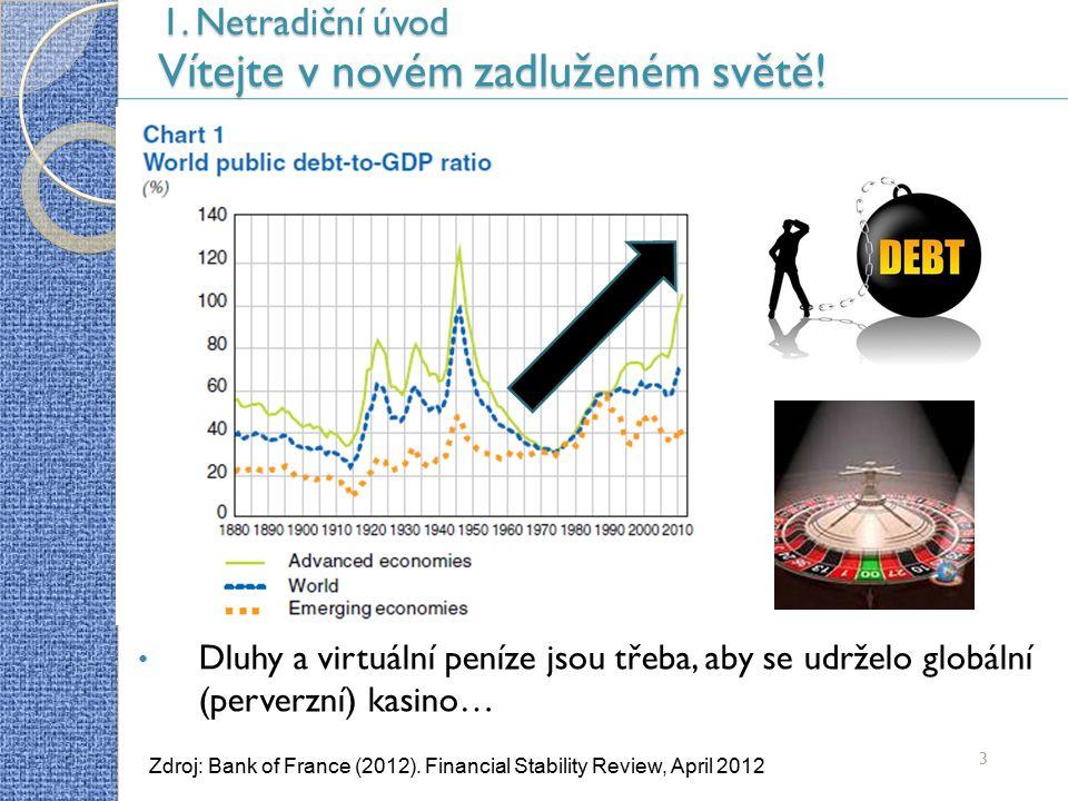 4 Zdroj: MFČR (2013).Makroekonomická predikce České republiky, říjen 2013 1.