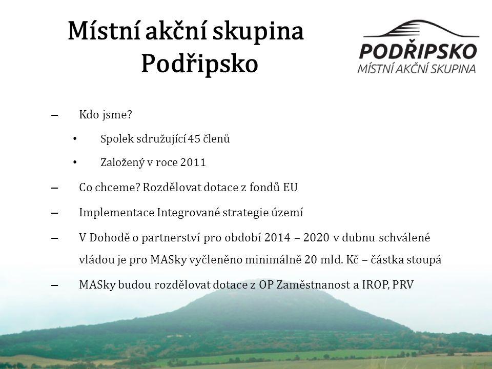 Místní akční skupina Podřipsko – Kdo jsme.