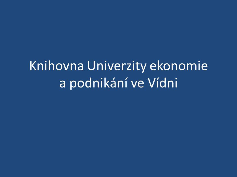 Knihovna Univerzity ekonomie a podnikání ve Vídni
