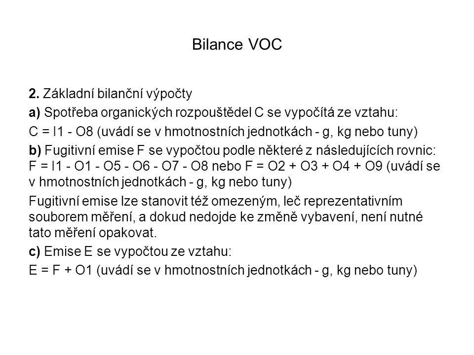 Bilance VOC 2.