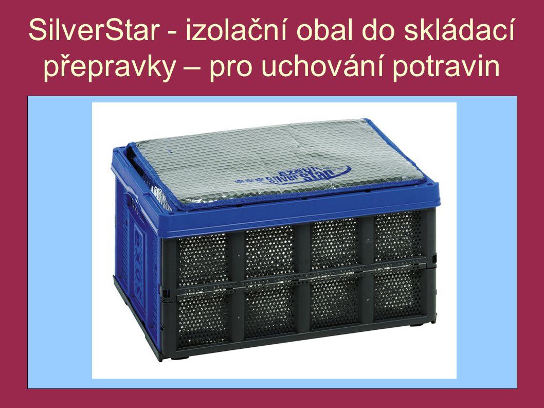 SilverStar - izolační obal do skládací přepravky – pro uchování potravin