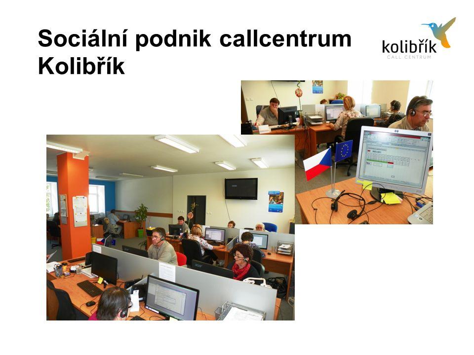Sociální podnik callcentrum Kolibřík