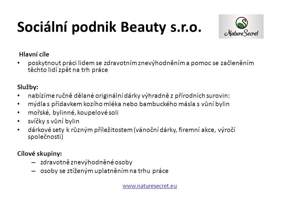 Sociální podnik Beauty s.r.o.