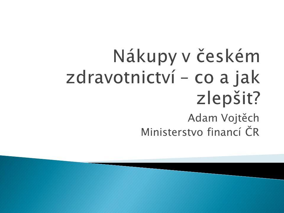 Adam Vojtěch Ministerstvo financí ČR