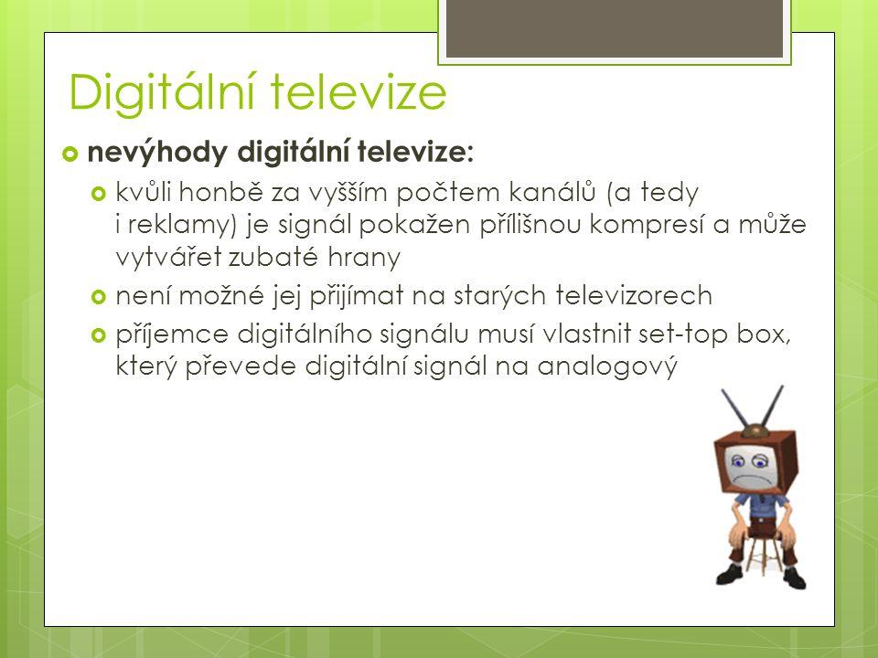 HD video  HD video je v principu obyčejné video, které pouze zvětší počet zobrazovaných bodů  větší počet bodů ale vyžaduje větší záznamové kapacity, větší rychlost přenosu videosignálu, nové kodeky a nové zobrazovací zařízení  důsledkem je inovace technického vybavení