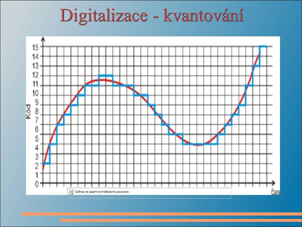 Digitalizace - kvantování
