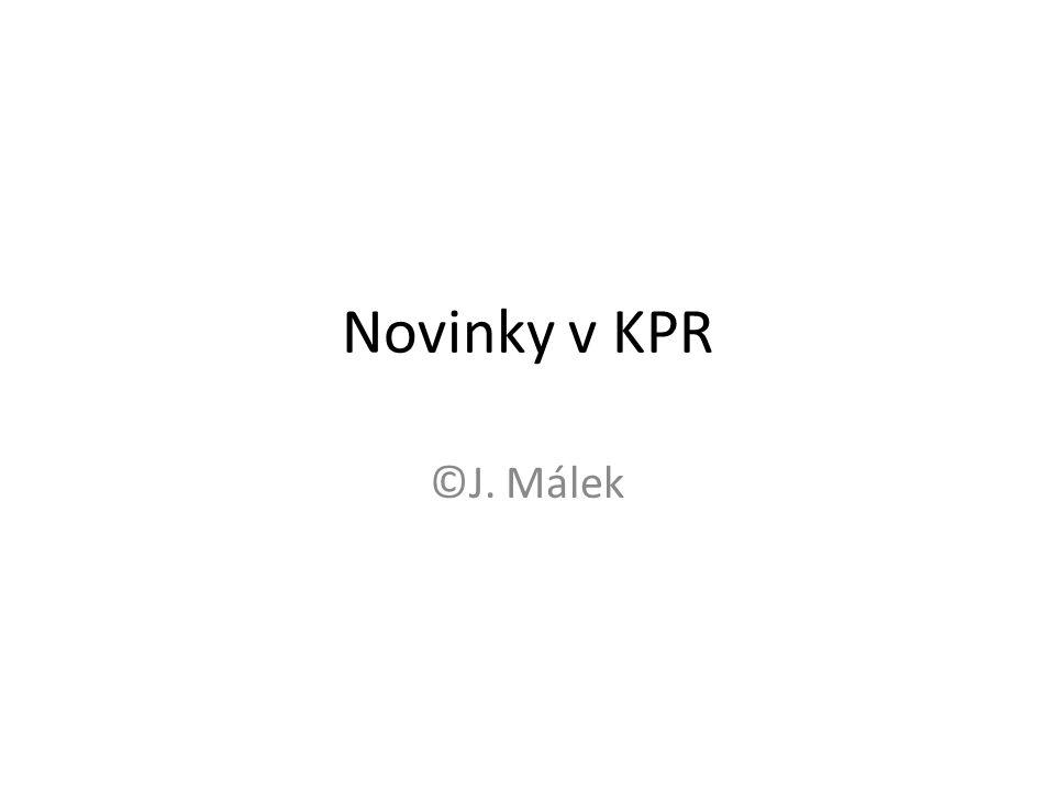 Novinky v KPR ©J. Málek