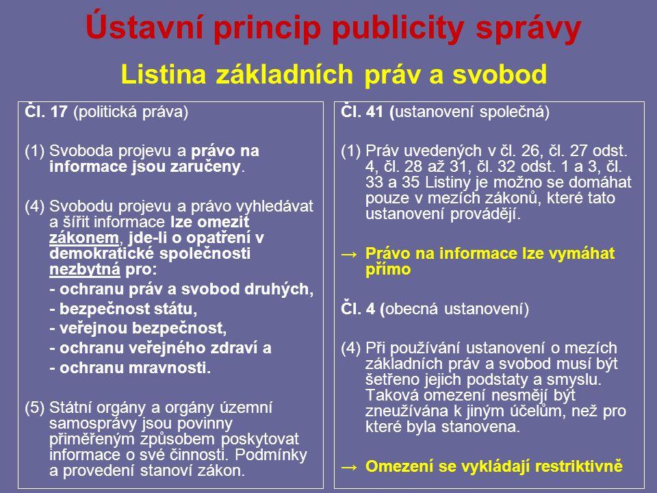 Právo na informace PrF UK, 6. 11. 2013 Mgr. František KORBEL, Ph.D.