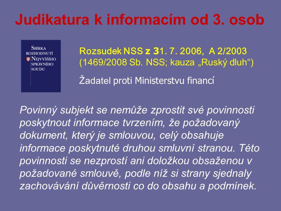 § 11 – Další omezení práva na informace odst. 2 (obligatorní = neposkytne, tj.