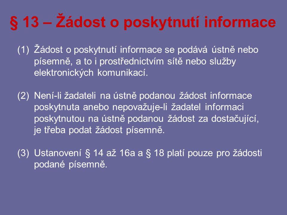 § 12 - Podmínky omezení Všechna omezení práva na informace provede povinný subjekt tak, že poskytne požadované informace včetně doprovodných informací po vyloučení těch informací, u nichž to stanoví zákon.