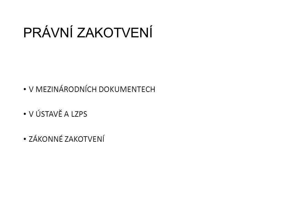 Z judikatury: Rozsudek ESLP ze 16.12. 1992, ve věci Niemitz vs.