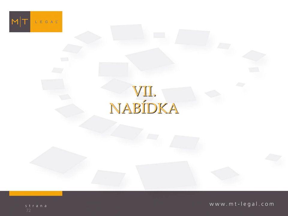 VII.NABÍDKA 72