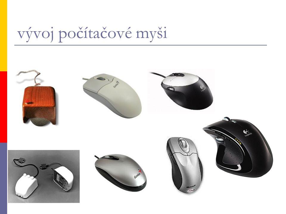 vývoj počítačové myši