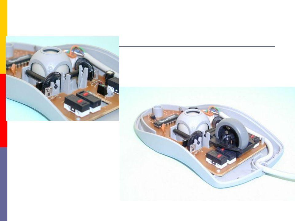 optická myš  pracují na principu vyslání paprsku a jeho odrazu od podložky