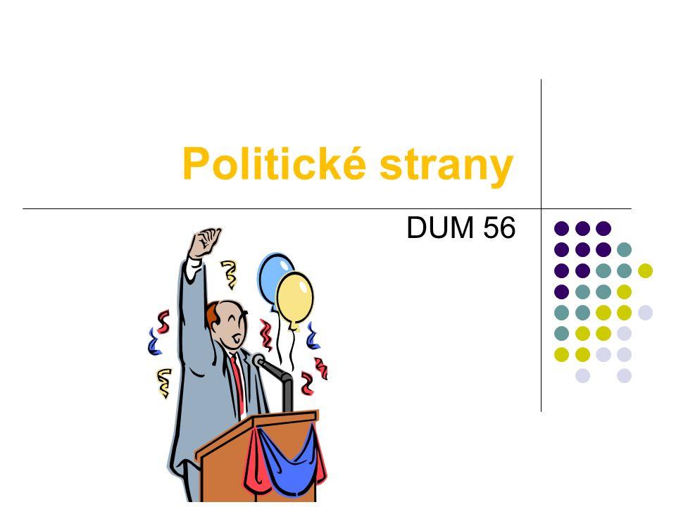 Politické strany DUM 56