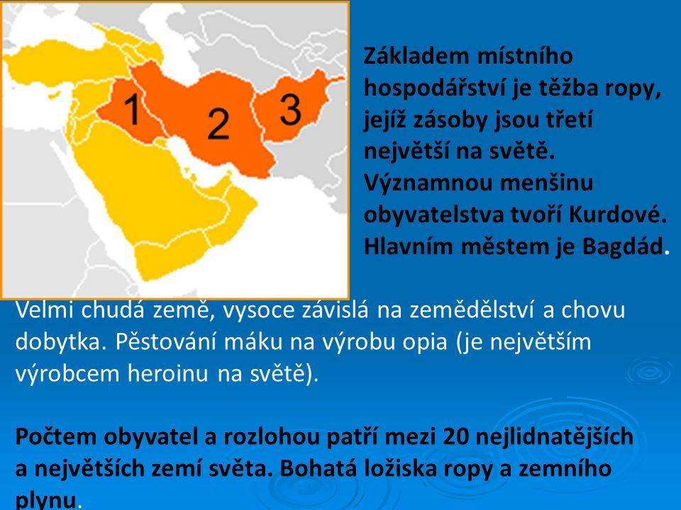 Základem místního hospodářství je těžba ropy, jejíž zásoby jsou třetí největší na světě. Významnou menšinu obyvatelstva tvoří Kurdové. Hlavním městem