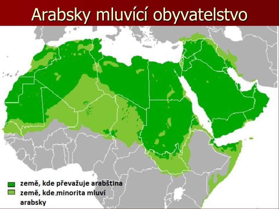 Arabsky mluvící obyvatelstvo