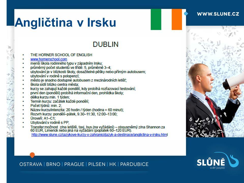 Angličtina v Irsku