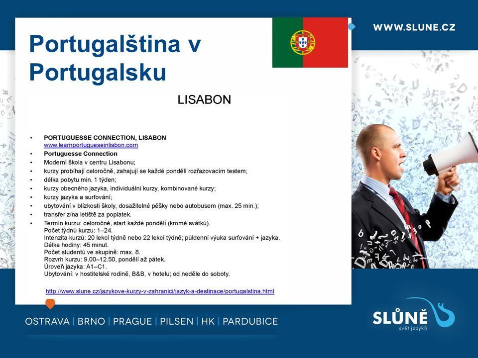 Portugalština v Portugalsku