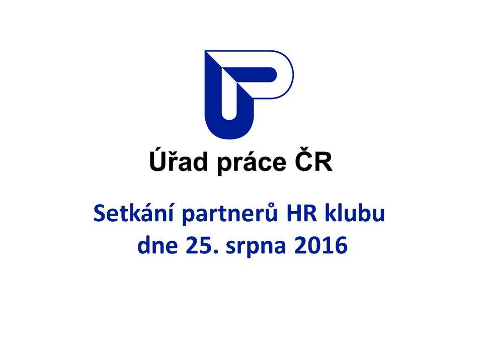 Setkání partnerů HR klubu dne 25. srpna 2016