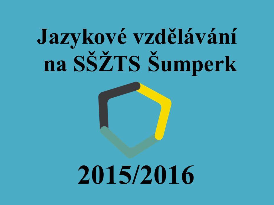 Jazykové vzdělávání na SŠŽTS Šumperk 2015/2016
