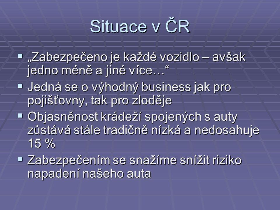 10 nejkradenějších značek v ČR ZnačkaOdcizeno ks 1.