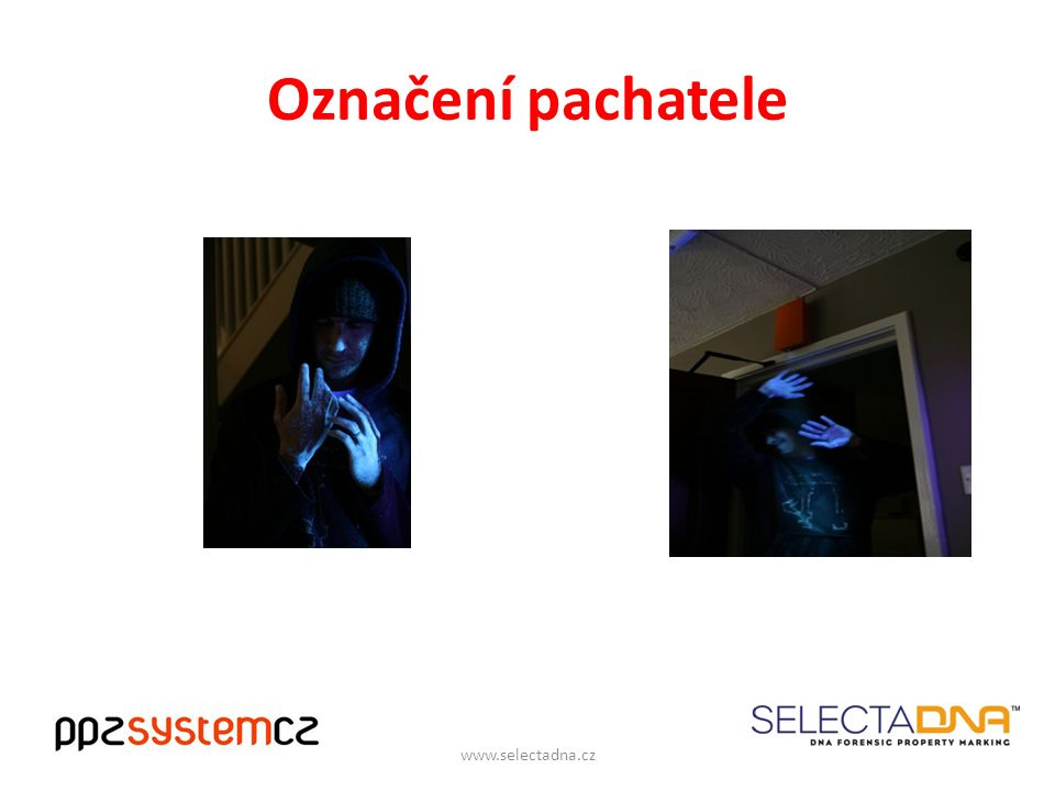 Označení pachatele www.selectadna.cz