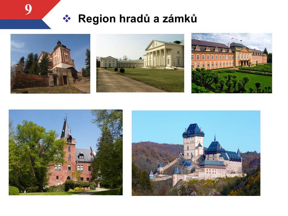 9  Region hradů a zámků