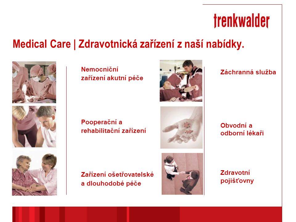Medical Care | Zdravotnická zařízení z naší nabídky.