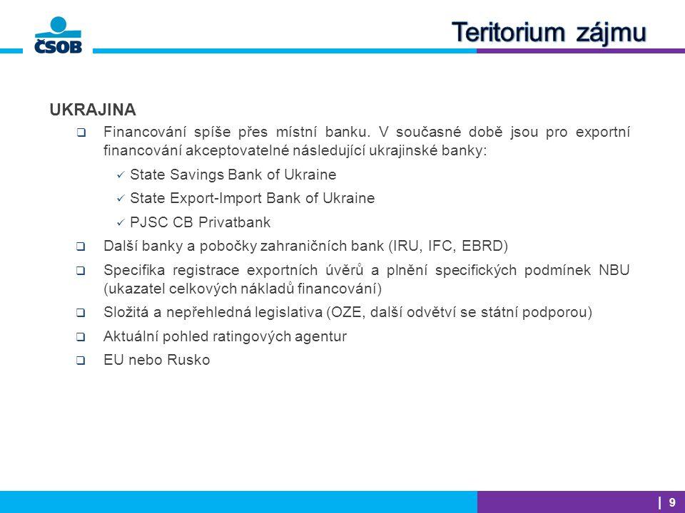  Pokračuje trend klubových exportních transakcí (závod na zpracování vepřového masa, Rusko, 4 banky)  Kooperace ČSOB s Českou exportní bankou na transakcích a dalšími komerčními bankami (Irák, Turecko, Rusko, Bělorusko)  Častější využívání ostatních pojistných produktů EGAPu (např.
