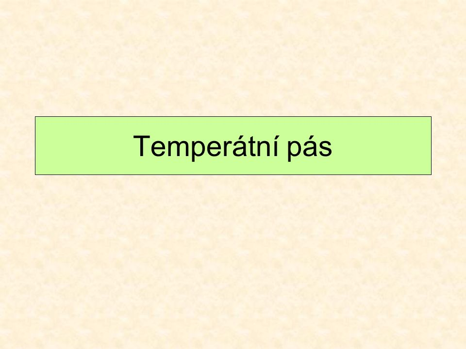Temperátní pás