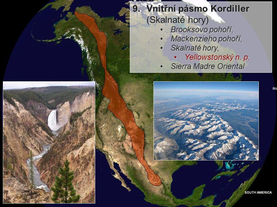 8.Pobřežní nížina části: Atlantská nížina, Mississippská nížinačásti: Atlantská nížina, Mississippská nížina sedimentace - písky a bažiny x sprašové p