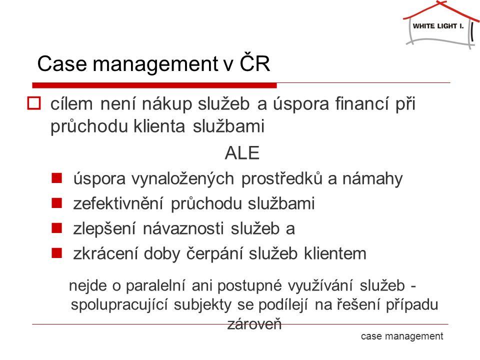 23 September 2016strana 8case management Case management v ČR  cílem není nákup služeb a úspora financí při průchodu klienta službami ALE úspora vyna
