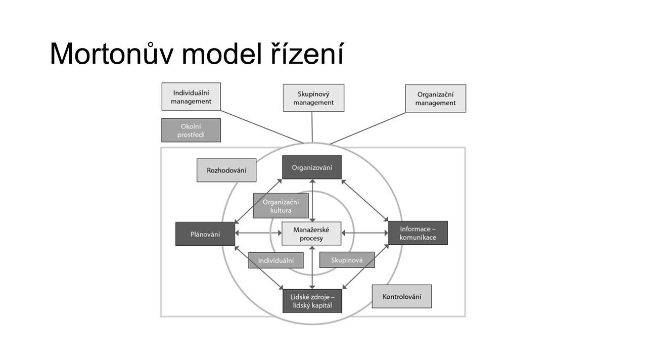 Mortonův model řízení