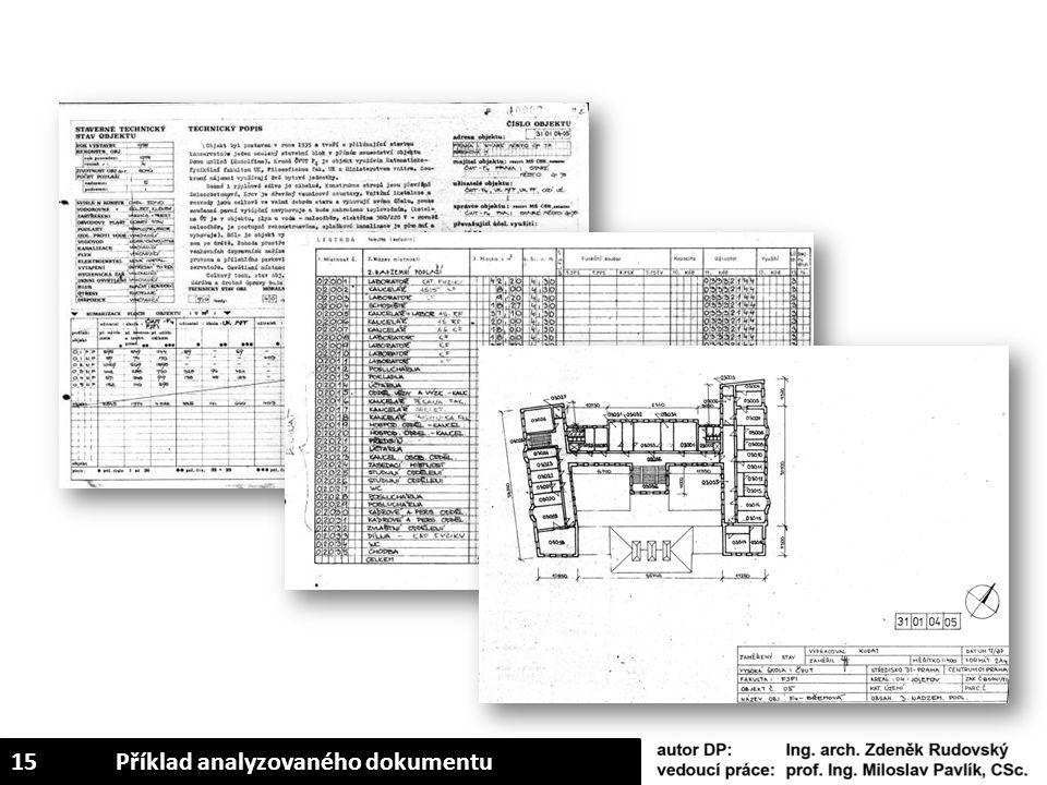 15Příklad analyzovaného dokumentu