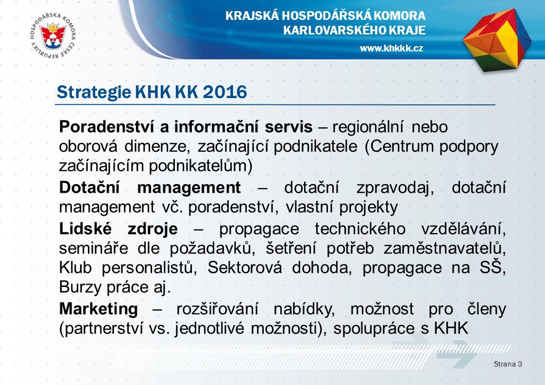 Poradenství a informační servis – regionální nebo oborová dimenze, začínající podnikatele (Centrum podpory začínajícím podnikatelům) Dotační management – dotační zpravodaj, dotační management vč.
