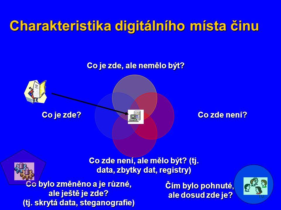 10 Charakteristika digitálního místa činu Co je zde, ale nemělo být.