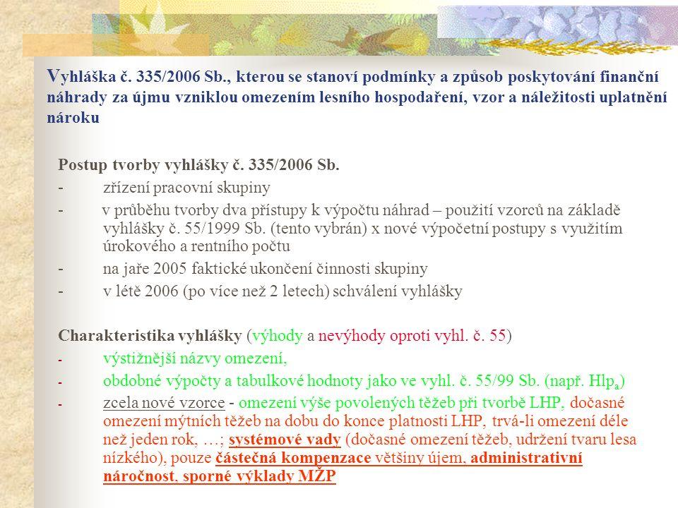 Praktické poznatky: - podíl MZD v ZCHÚ uvedený v LHP, popř.