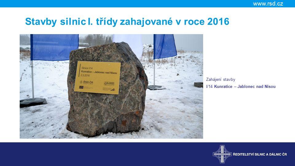 www.rsd.cz Stavby silnic I.