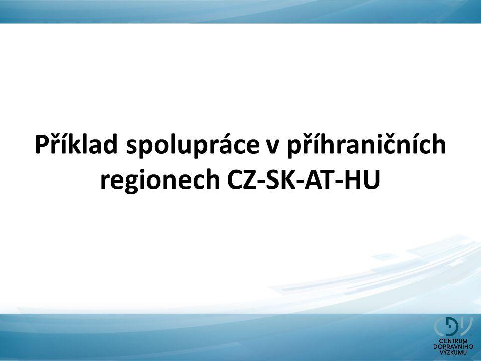 Příklad spolupráce v příhraničních regionech CZ-SK-AT-HU