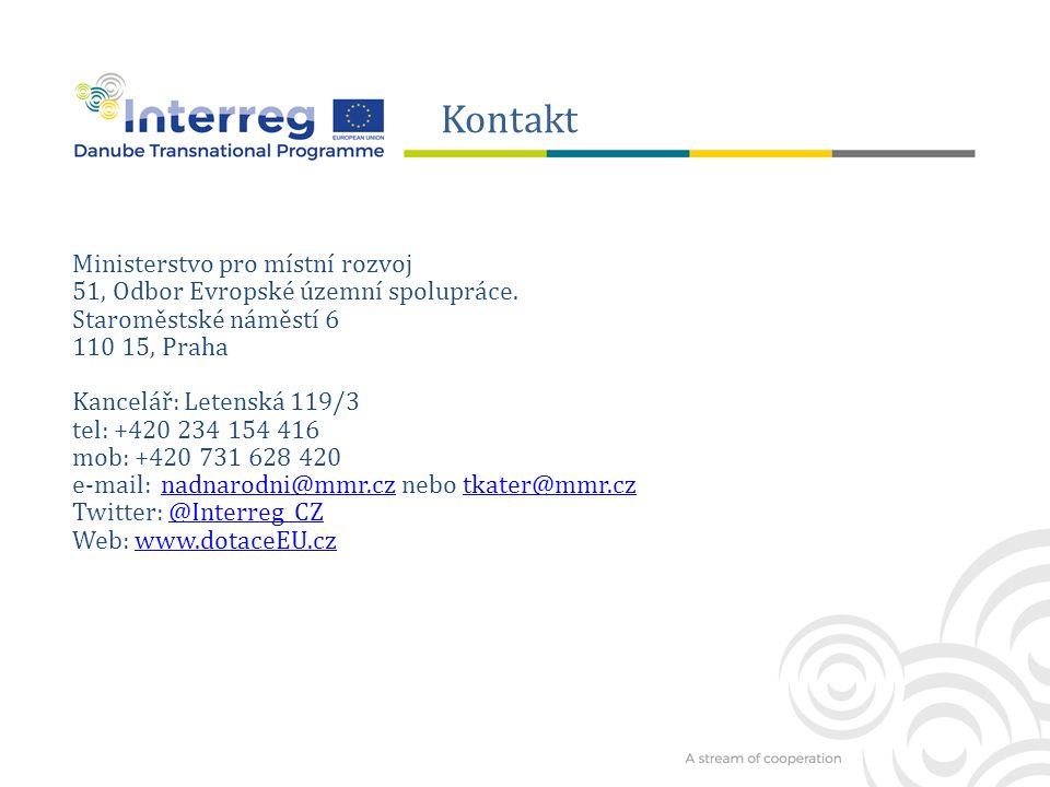 Ministerstvo pro místní rozvoj 51, Odbor Evropské územní spolupráce.
