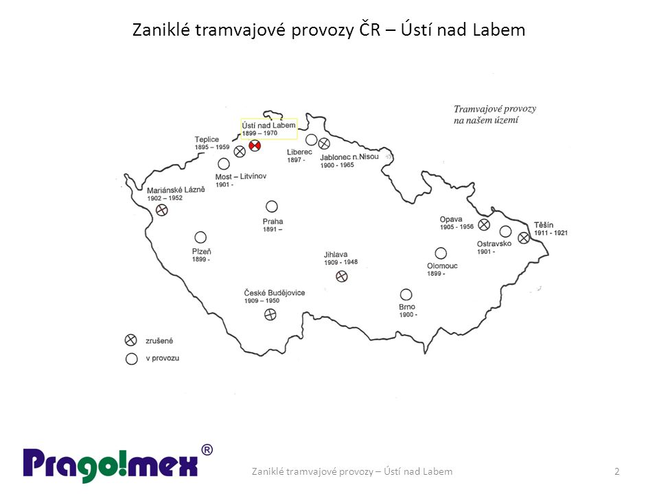 Zaniklé tramvajové provozy ČR – Ústí nad Labem Zaniklé tramvajové provozy – Ústí nad Labem2